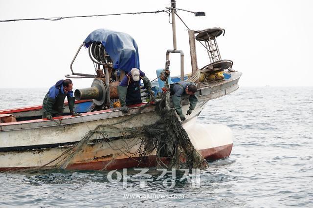 경북도, 대게 자원 회복위해 대게어장 환경정비 나서