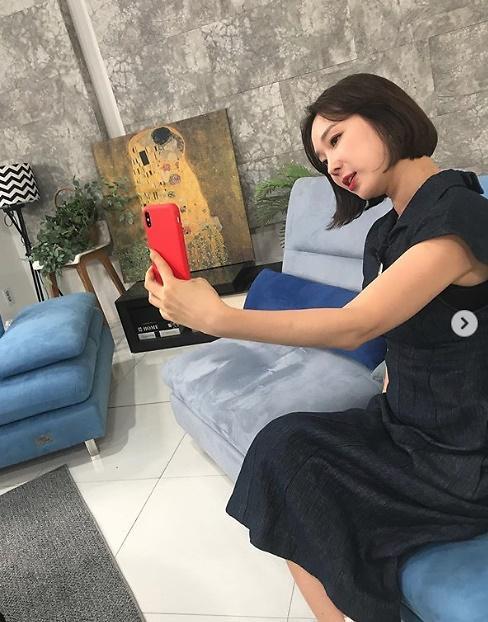 [#SNS★] 시서스가루 효과 ing~ 이지혜의 여리여리한 팔뚝