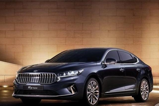 起亚K7中期改款在韩上市 预售超新车
