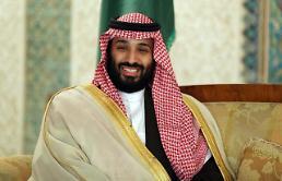 .文在寅今日与沙特王储举行会谈.
