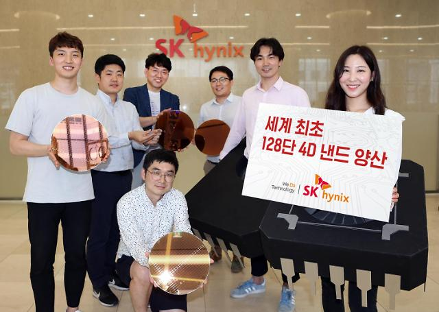 SK hynix develops 128-layer 1 terabit TLC 4D NAND flash memory for first time