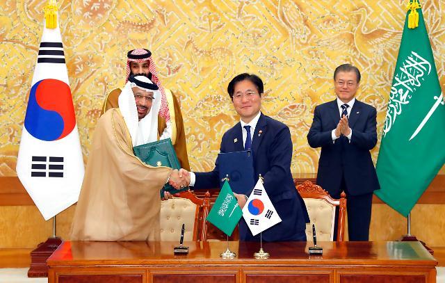사우디와 산업·에너지 분야 협력 강화…83억 달러 규모 계약