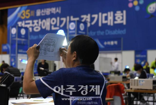 '경남 장애인 기능 경기대회'에 27개 직종 156명 도전