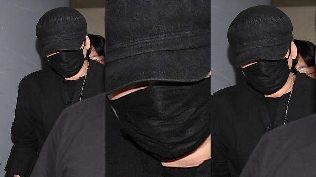 [슬라이드 화보] 양현석 YG 전 대표, 지하주차장에서 기자들 피해 도망치듯 귀가
