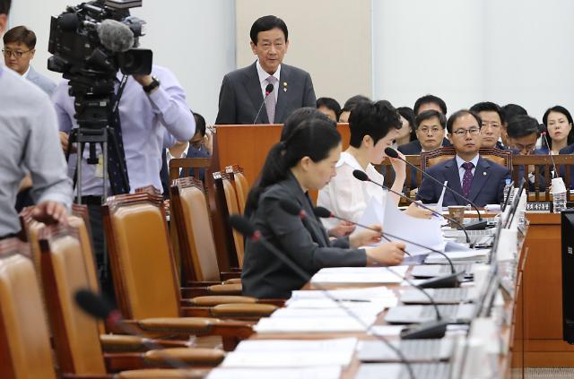 국회 행안위, 비쟁점법안 65건 의결…버닝썬·YG 질타도