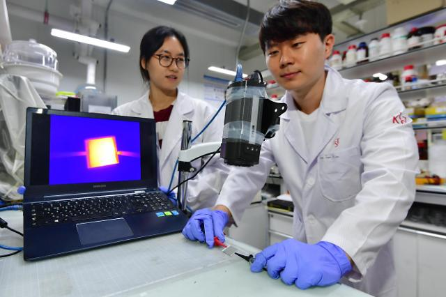 KIST与延世大学共同研发出可穿戴式加热器