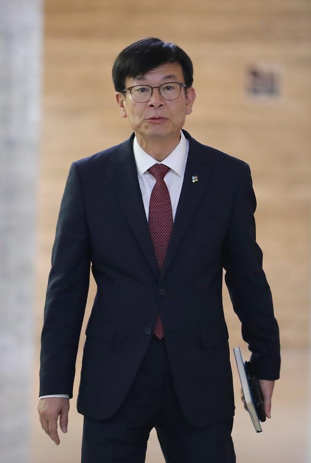 """김상조 """"경제원탁회의, 여야 결정대로 따르겠다"""""""