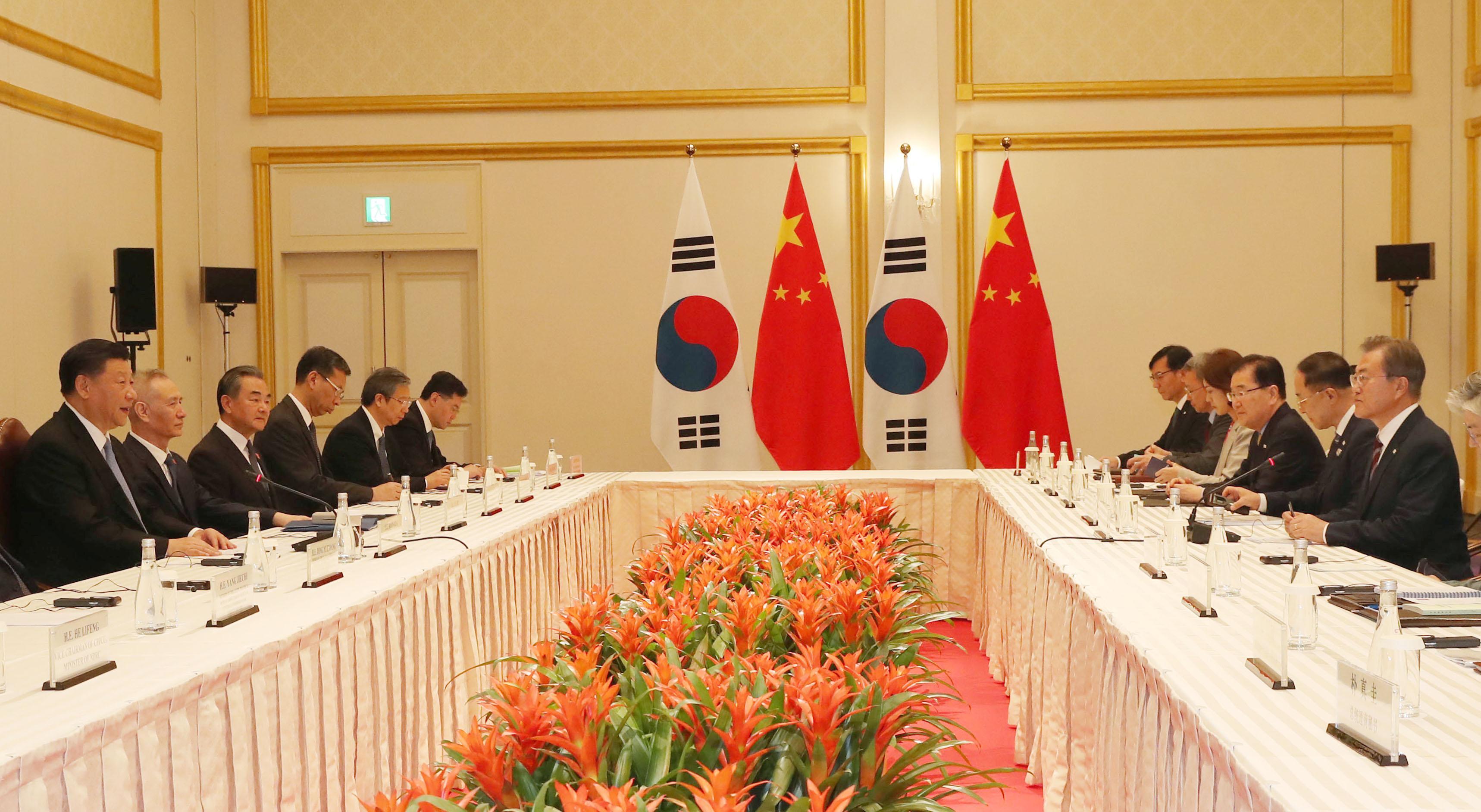 文在寅:中国在无核化中起建设性作用