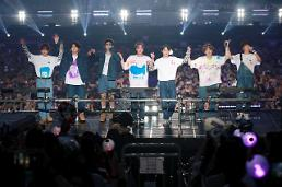 .BTS pockets $51.6 mln in tour ticket sales in May to become worlds top-grossing band.