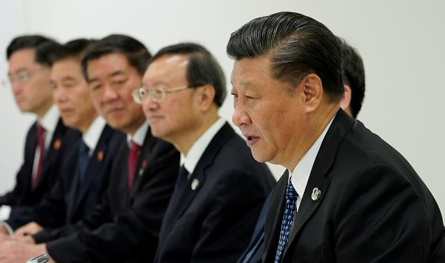 中美首脑开始会谈