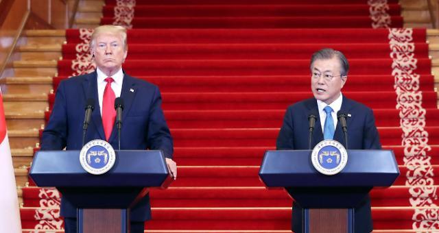 <快讯>文在寅表示美朝领导人今将在板门店会面