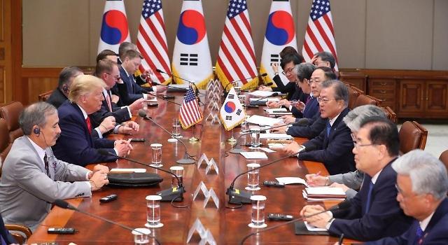 <快讯>特朗普称今能短暂会见金正恩 双方正协调