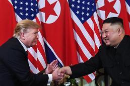 .韩朝美领导人在板门店会面 特朗普成踏上朝鲜领土的首位现任美国总统.