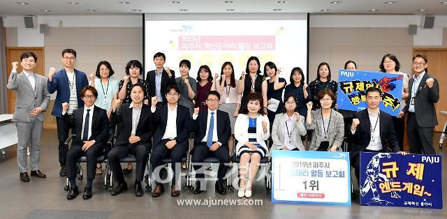 파주시, 혁신동아리 활동 보고회 개최