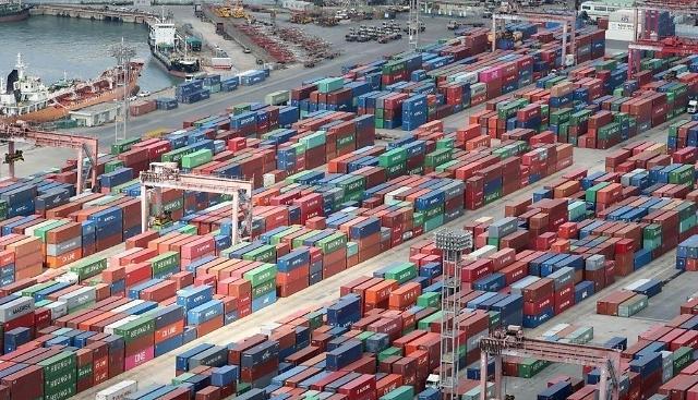 韩6月出口同比减少13.5% 连续7个月呈下滑趋势