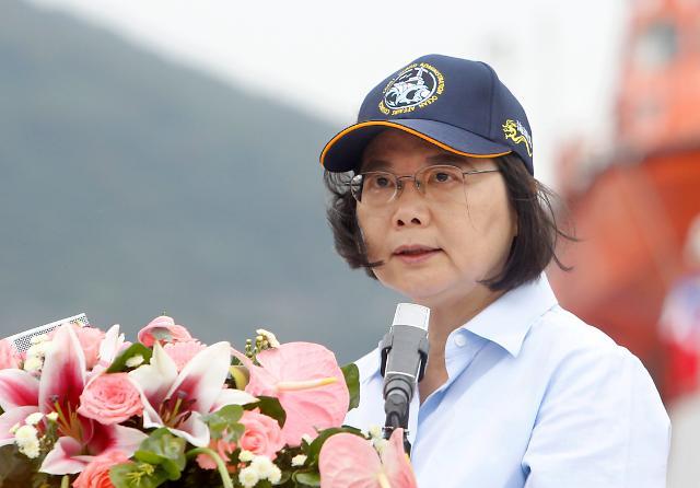 대만 차이잉원 미국 또 경유외교…중국 반발 예상