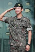 俳優キム・スヒョン、7月1日に除隊・・・「軍生活に最善を尽くした」