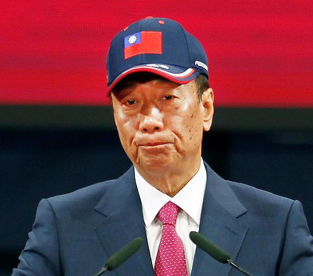 한류 꺾은 궈타이밍…대만 국민당 지지율 1위로 껑충