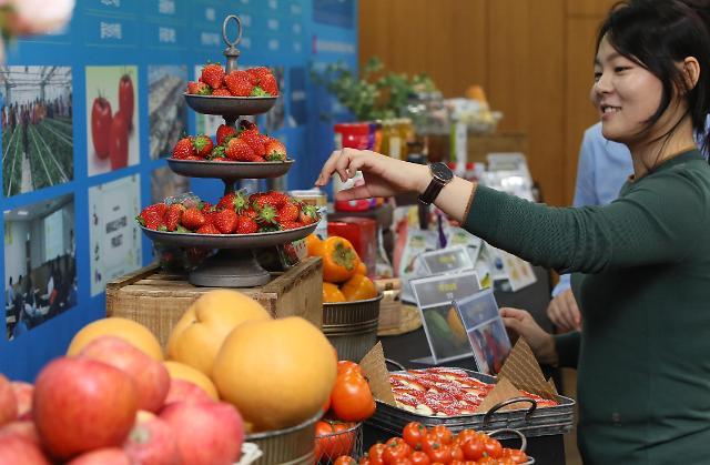 韩国上半年农副产品出口同比减少0.3%