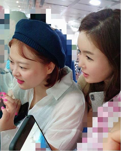 """[#SNS★] 장영란 """"정준호♥이하정 딸, 너무 예뻐 눈을 못 뗐네요"""""""