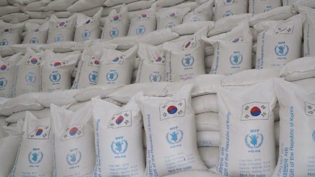 韩政府即将与世粮署签对朝粮援协议