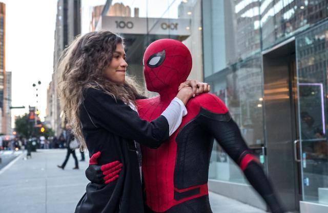 《蜘蛛侠:英雄远征》上映首日登韩国票房榜首