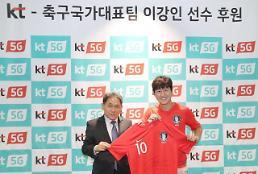 .KT与金球奖得主李康仁签署赞助合约.