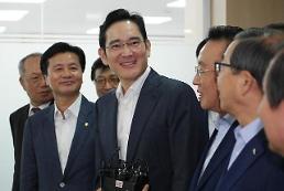 .李在镕郑义宣具光谟等将会见软银集团会长孙正义.