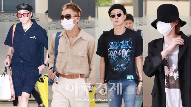 [슬라이드 화보] 그룹 위너, 'WINNER JAPAN TOUR 2019' 일본 투어 마치고 한국으로 컴백
