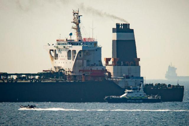 영국, 지브롤터 해협서 이란 유조선 나포