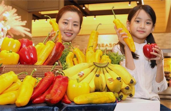 바나나파프리카, 신세계백화점 본점 식품관서 판매