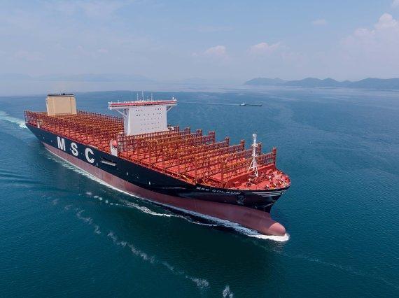 三星重工建造世界最大集装箱船