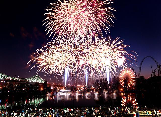 한화, 몬트리올불꽃축제에 한국 대표로 참가