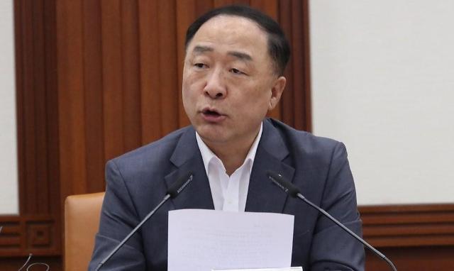 韩经济首长敦促日方撤回限制出口措施