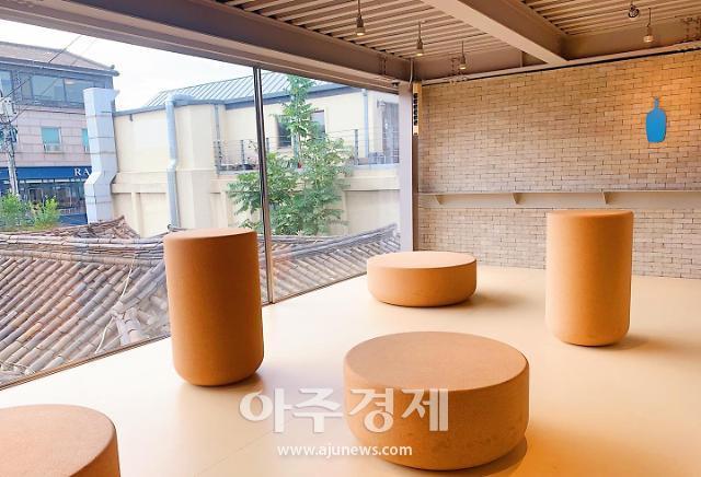 [르포] '커피계의 애플' 블루보틀 너마저···'한국형 커피숍'에 순응