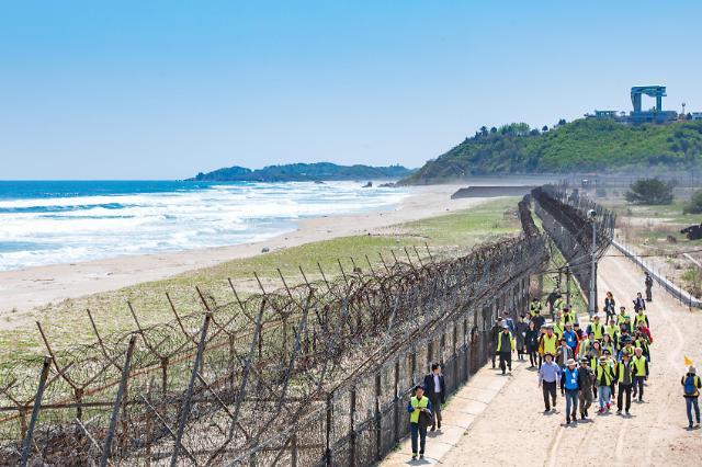 한국관광공사, DMZ 평화의 길' 고성지역 단체방문 운영
