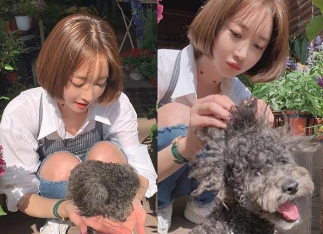 [#SNS★] 고준희 많이 힘들었나…야윈 얼굴에 팬들 속상