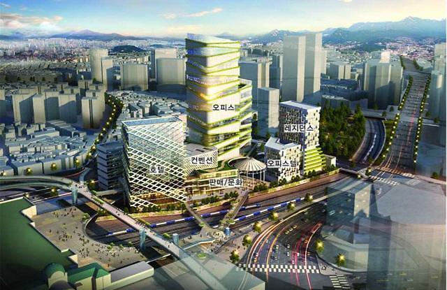 서울역북부 개발 우선협상자에 한화종합화학 컨소시엄