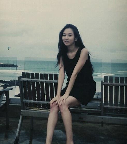 [슬라이드 #SNS★] 안미나, 늘씬 몸매 비결은 필라테스?