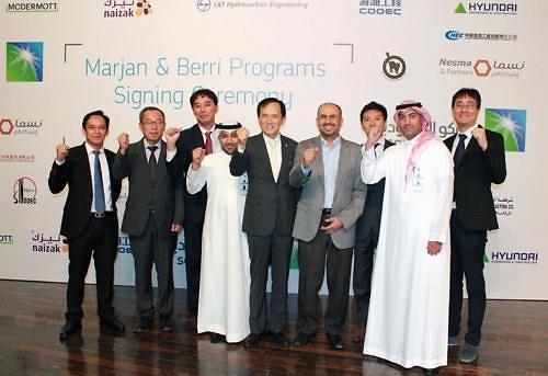 现代建设在沙特赢得3.2万亿韩元工程订单