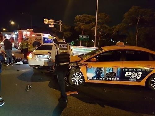 고속도로 사망 한지성 남편, 음주운전 알고 있었다…횟집 CCTV 속 모습은?