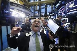 .[全球股市]道-琼斯指数刷新历史最高纪录,突破27000点大关......比前一天增加0.85%.