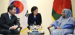 .韩孟总理举行会谈共商合作大计.