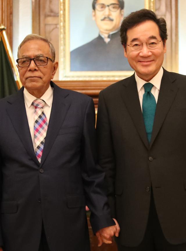이 총리와 방글라데시 대통령 대화에 왜 방탄소년단이?