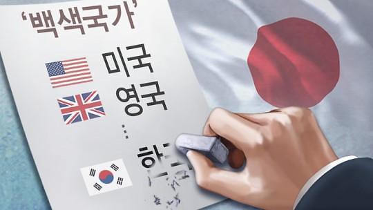 """""""勿谓言之不预也"""" 日本放话要将韩国踢出白名单"""