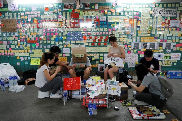 홍콩 곳곳으로 퍼져 나간 존 레논 벽