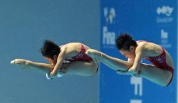 .光州世游赛:中国跳水队开启金牌收割模式.