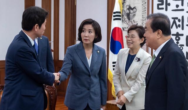 여야 5당, 靑-대표 회동 실무 협의…'18일 개최' 가닥