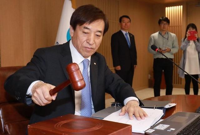 预测称韩国银行7月冻结利率 8月有望下调利率