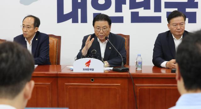 """박맹우 """"김순례 의원 당헌당규상 최고위 복귀 문제없어"""""""
